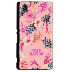 Sony Xperia M4 Aqua Mobile Covers Cases Pink nation - Lowest Price - Paybydaddy.com
