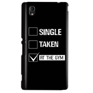 Sony Xperia M4 Aqua Mobile Covers Cases Single Taken At The Gym - Lowest Price - Paybydaddy.com