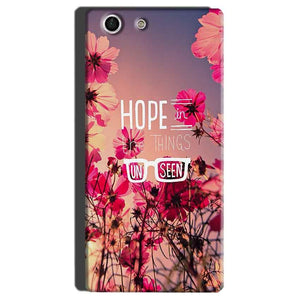 Sony Xperia M5 Mobile Covers Cases Hope in the Things Unseen- Lowest Price - Paybydaddy.com