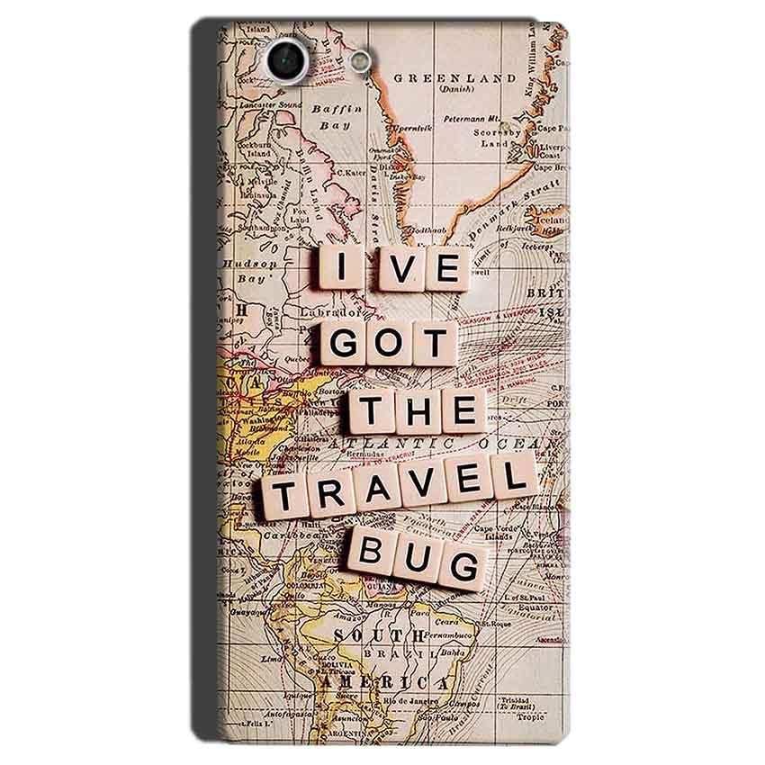 Sony Xperia M5 Mobile Covers Cases Live Travel Bug - Lowest Price - Paybydaddy.com