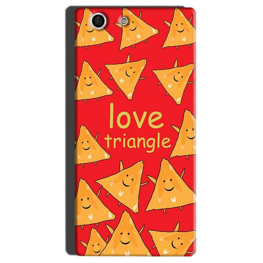 Sony Xperia M5 Mobile Covers Cases Love Triangle - Lowest Price - Paybydaddy.com