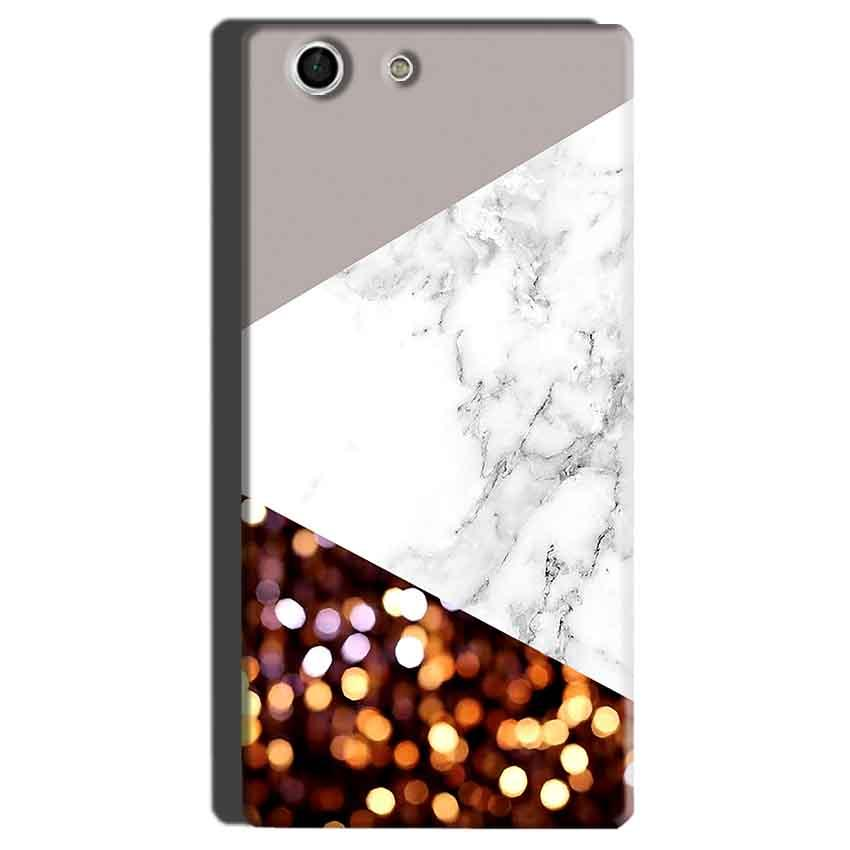 Sony Xperia M5 Mobile Covers Cases MARBEL GLITTER - Lowest Price - Paybydaddy.com