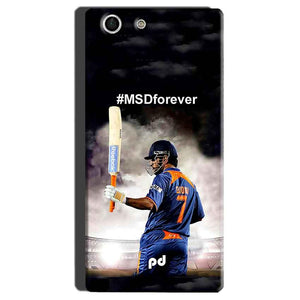 Sony Xperia M5 Mobile Covers Cases MS dhoni Forever - Lowest Price - Paybydaddy.com