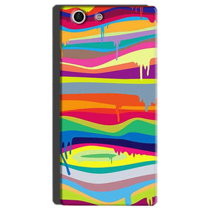 Sony Xperia M5 Mobile Covers Cases Melted colours - Lowest Price - Paybydaddy.com