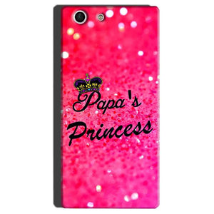 Sony Xperia M5 Mobile Covers Cases PAPA PRINCESS - Lowest Price - Paybydaddy.com