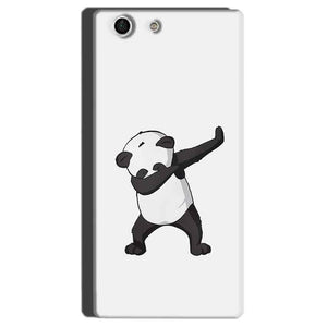 Sony Xperia M5 Mobile Covers Cases Panda Dab - Lowest Price - Paybydaddy.com