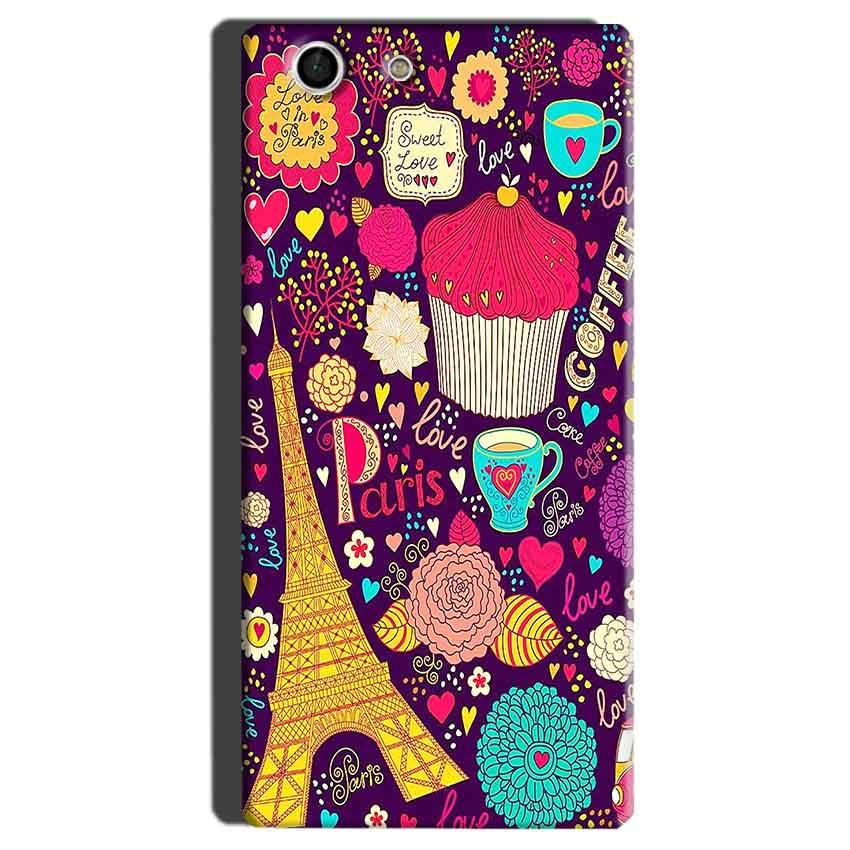 Sony Xperia M5 Mobile Covers Cases Paris Sweet love - Lowest Price - Paybydaddy.com