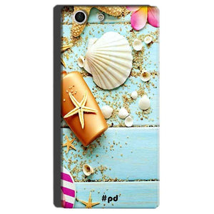 Sony Xperia M5 Mobile Covers Cases Pearl Star Fish - Lowest Price - Paybydaddy.com