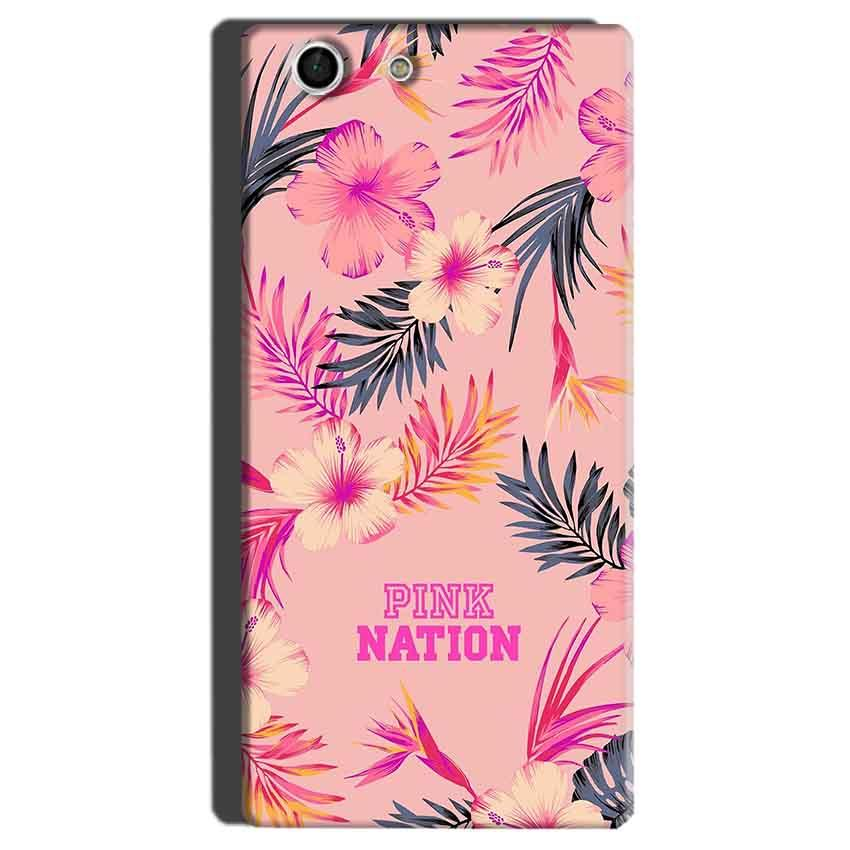 Sony Xperia M5 Mobile Covers Cases Pink nation - Lowest Price - Paybydaddy.com