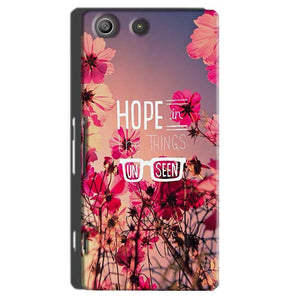 Sony Xperia M5 Pro Mobile Covers Cases Hope in the Things Unseen- Lowest Price - Paybydaddy.com