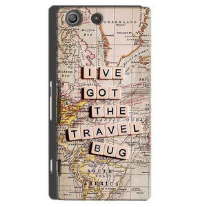 Sony Xperia M5 Pro Mobile Covers Cases Live Travel Bug - Lowest Price - Paybydaddy.com