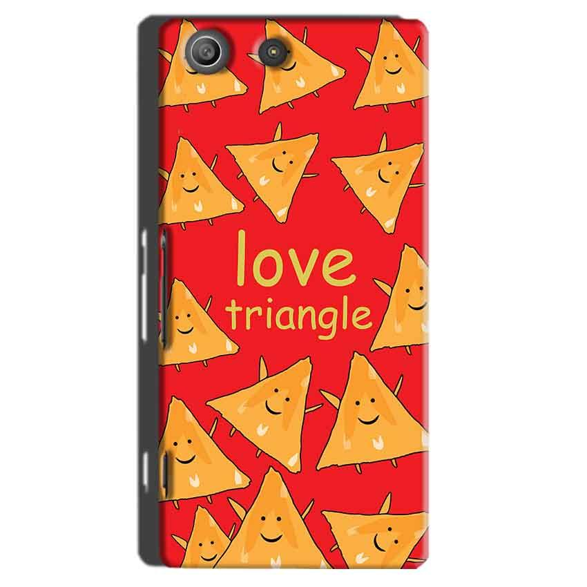 Sony Xperia M5 Pro Mobile Covers Cases Love Triangle - Lowest Price - Paybydaddy.com