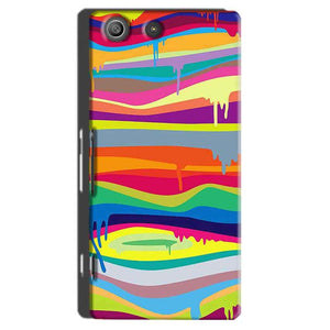 Sony Xperia M5 Pro Mobile Covers Cases Melted colours - Lowest Price - Paybydaddy.com