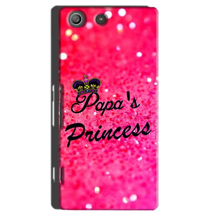 Sony Xperia M5 Pro Mobile Covers Cases PAPA PRINCESS - Lowest Price - Paybydaddy.com