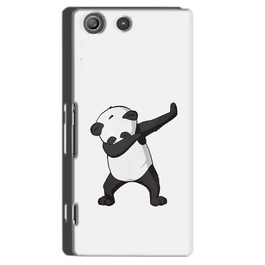 Sony Xperia M5 Pro Mobile Covers Cases Panda Dab - Lowest Price - Paybydaddy.com