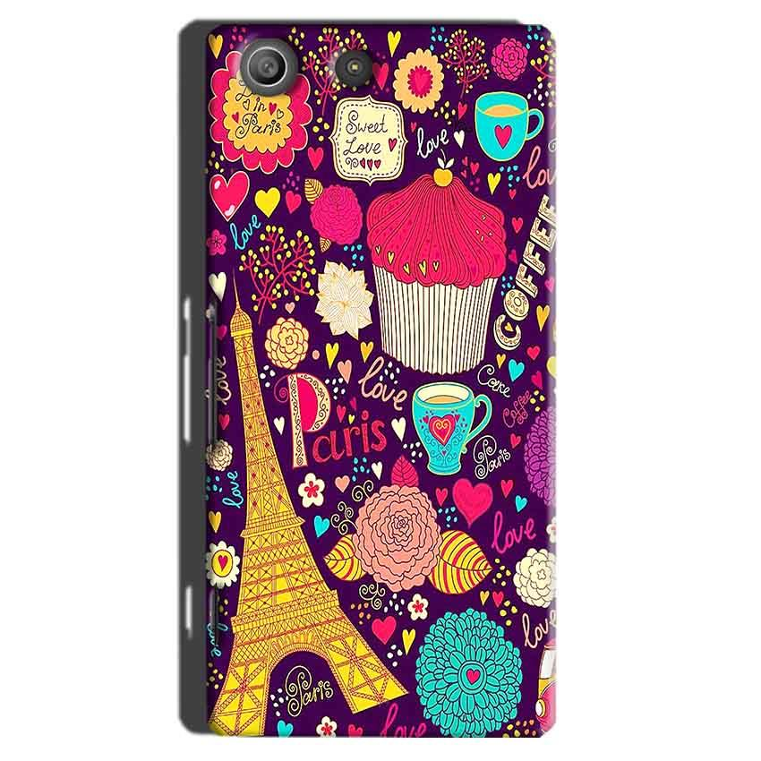 Sony Xperia M5 Pro Mobile Covers Cases Paris Sweet love - Lowest Price - Paybydaddy.com