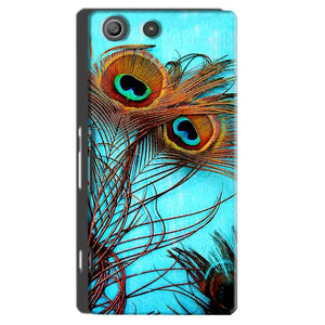 Sony Xperia M5 Pro Mobile Covers Cases Peacock blue wings - Lowest Price - Paybydaddy.com