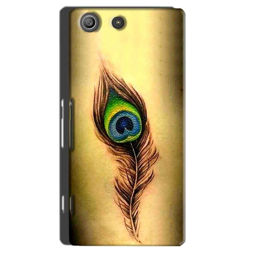 Sony Xperia M5 Pro Mobile Covers Cases Peacock coloured art - Lowest Price - Paybydaddy.com