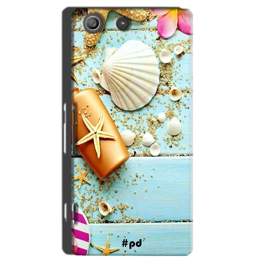 Sony Xperia M5 Pro Mobile Covers Cases Pearl Star Fish - Lowest Price - Paybydaddy.com