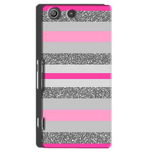 Sony Xperia M5 Pro Mobile Covers Cases Pink colour pattern - Lowest Price - Paybydaddy.com