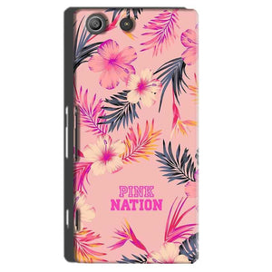 Sony Xperia M5 Pro Mobile Covers Cases Pink nation - Lowest Price - Paybydaddy.com