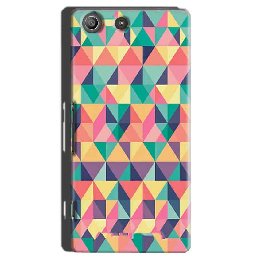 Sony Xperia M5 Pro Mobile Covers Cases Prisma coloured design - Lowest Price - Paybydaddy.com