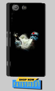 Sony Xperia M5 Pro Mobile Covers Cases Shiva Aghori Smoking - Lowest Price - Paybydaddy.com