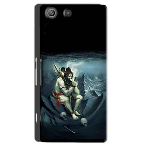Sony Xperia M5 Pro Mobile Covers Cases Shiva Smoking - Lowest Price - Paybydaddy.com