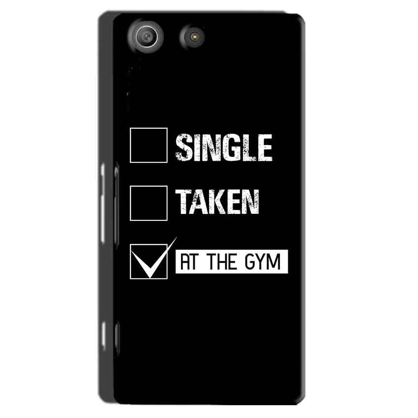 Sony Xperia M5 Pro Mobile Covers Cases Single Taken At The Gym - Lowest Price - Paybydaddy.com