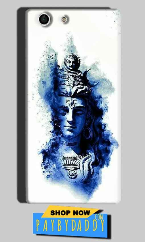 Sony Xperia M5 Mobile Covers Cases Shiva Blue White - Lowest Price - Paybydaddy.com