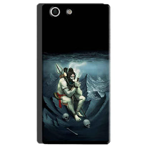 Sony Xperia M5 Mobile Covers Cases Shiva Smoking - Lowest Price - Paybydaddy.com