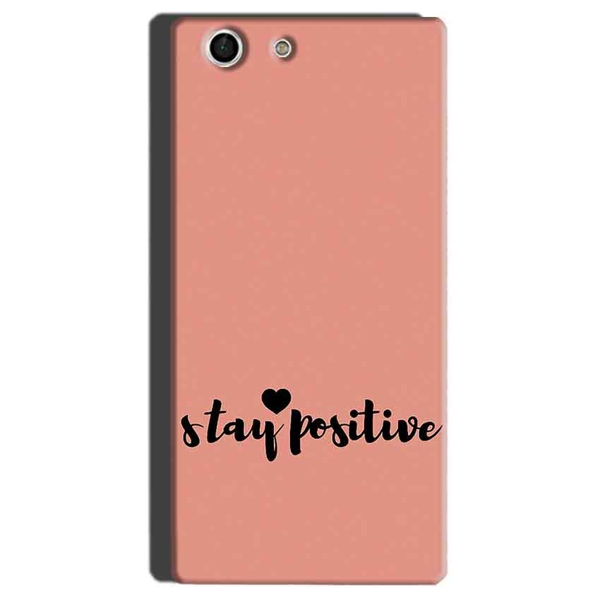 Sony Xperia M5 Mobile Covers Cases Stay Positive - Lowest Price - Paybydaddy.com
