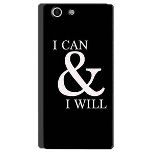 Sony Xperia M5 Mobile Covers Cases i can and i will - Lowest Price - Paybydaddy.com