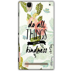 Sony Xperia T2 Ultra Mobile Covers Cases Do all things with kindness - Lowest Price - Paybydaddy.com