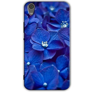 Sony Xperia XA1 Mobile Covers Cases Blue flower - Lowest Price - Paybydaddy.com