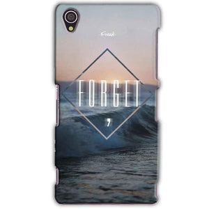 Sony Xperia Z3 Mobile Covers Cases Forget Quote Something Different - Lowest Price - Paybydaddy.com