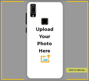 Customized Vivo V11 With Cut Mobile Phone Covers & Back Covers with your Text & Photo
