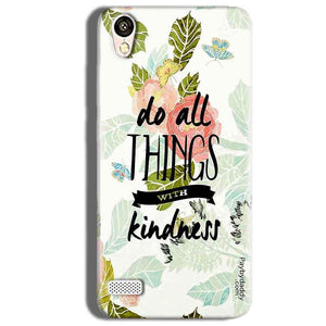 Vivo 31L Mobile Covers Cases Do all things with kindness - Lowest Price - Paybydaddy.com