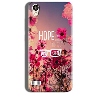 Vivo 31L Mobile Covers Cases Hope in the Things Unseen- Lowest Price - Paybydaddy.com