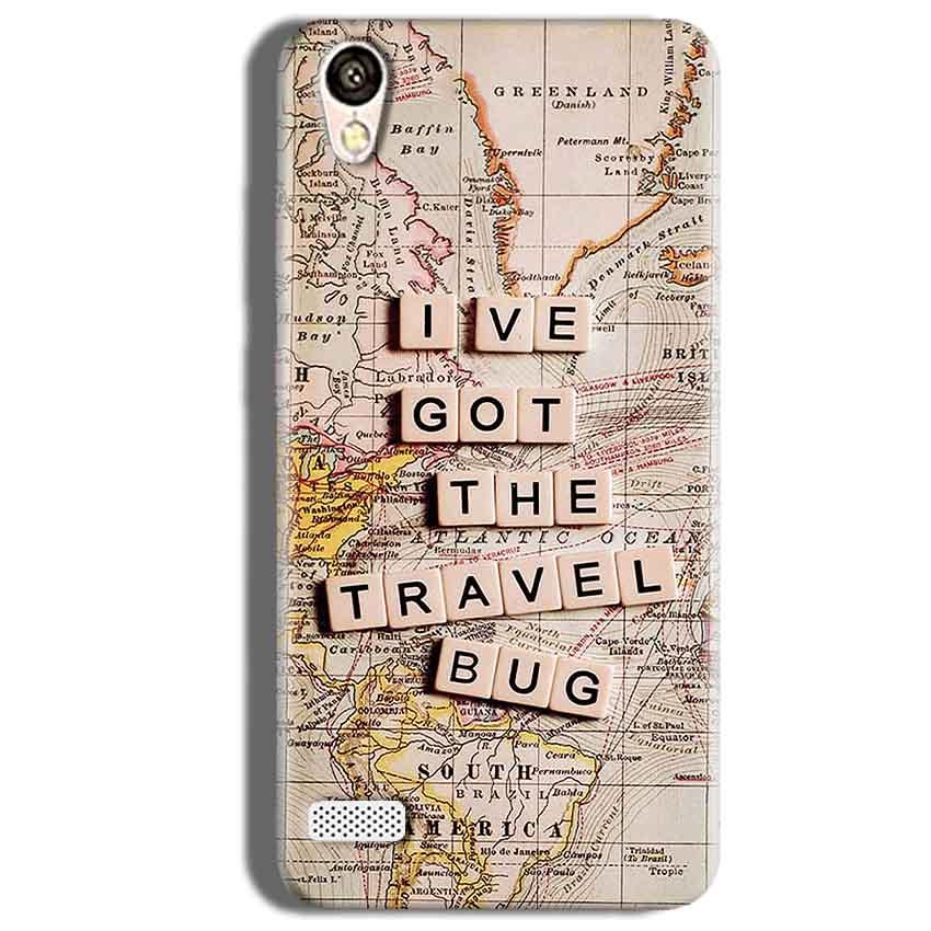 Vivo 31L Mobile Covers Cases Live Travel Bug - Lowest Price - Paybydaddy.com