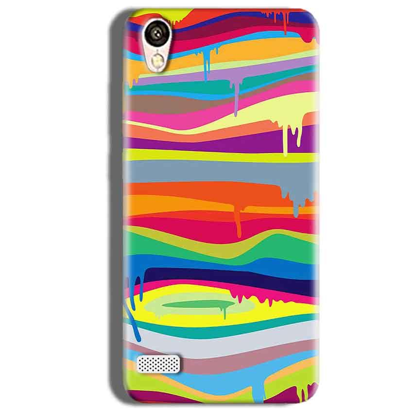Vivo 31L Mobile Covers Cases Melted colours - Lowest Price - Paybydaddy.com