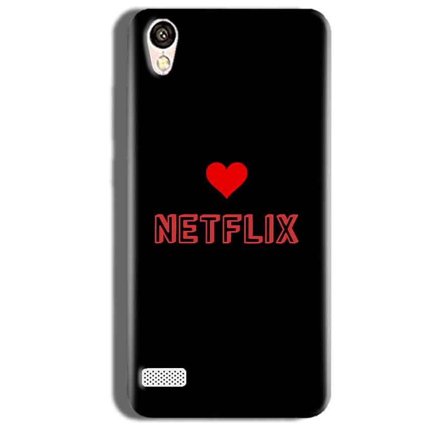 Vivo 31L Mobile Covers Cases NETFLIX WITH HEART - Lowest Price - Paybydaddy.com