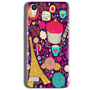 Vivo 31L Mobile Covers Cases Paris Sweet love - Lowest Price - Paybydaddy.com