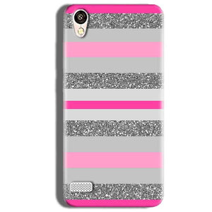 Vivo 31L Mobile Covers Cases Pink colour pattern - Lowest Price - Paybydaddy.com