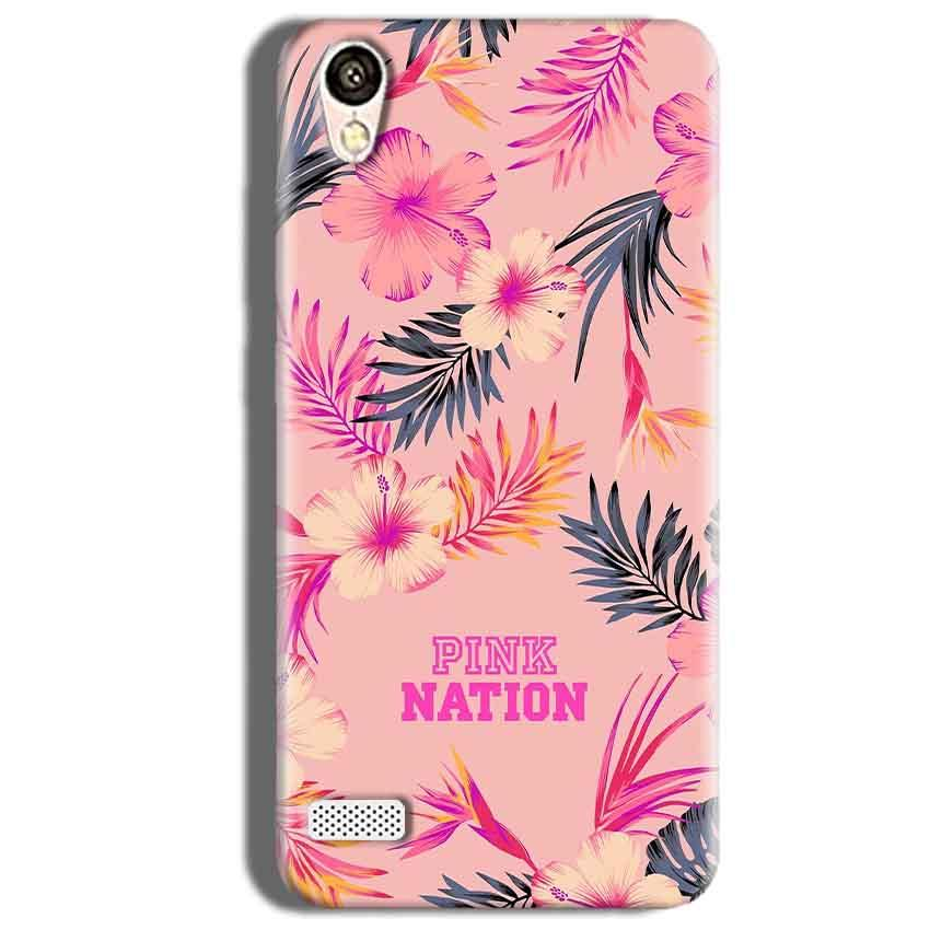 Vivo 31L Mobile Covers Cases Pink nation - Lowest Price - Paybydaddy.com