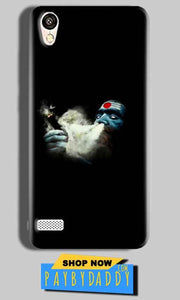 Vivo 31L Mobile Covers Cases Shiva Aghori Smoking - Lowest Price - Paybydaddy.com