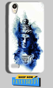 Vivo 31L Mobile Covers Cases Shiva Blue White - Lowest Price - Paybydaddy.com