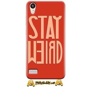 Vivo 31L Mobile Covers Cases Stay Weird - Lowest Price - Paybydaddy.com