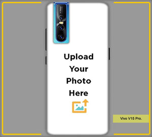CustomizedVivo V15 Pro  Back Mobile Phone Covers & Back Covers with your Text & PhotoPhoto Cover,Custom Cover,Picture With Cover