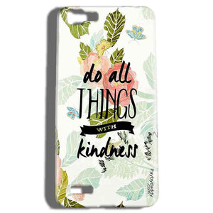 Vivo V1 Mobile Covers Cases Do all things with kindness - Lowest Price - Paybydaddy.com